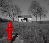 Red Fire Plug