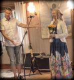 Unni Wilhelmsen - konsert Saltögården 5. august 2013.