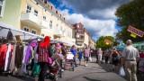Tradisjonal Street-market, Strömstad, Sweden August 24th 2013