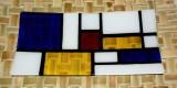 Mondrain platter