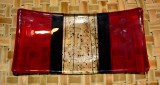 Red and Black platter