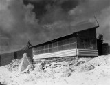 Kwaj 1945 OFFICER'S CLUB VERANDA VMB-613 Officers Club