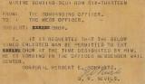 Kwaj 1945 chow hall special pass