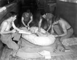 Kwaj 1945 parachute maint loft