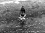 Kwaj 1945 TAIYO MARU Derelict off Eller Island in Kwajalein Lagoon