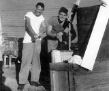 Kwaj 1945 wind powered laundry