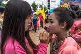 Rocket Festival in Tha Takiab District
