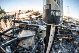 Shoshone, California Fire (10/12/2014) documenting aftermath