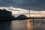 Glasgow Science Centre Glasgow Tower and Millennium Bridge  14_d800_2641