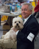 SIL40114 Man in Chair with Dandie