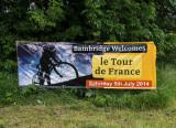 SIL60434 Bainbridge Welcomes the Tour de France