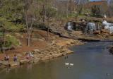 Family Fun at the Reedy River Falls