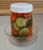 Quick Crunchy Pickles