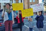 Anti Trump Rally at Historic Courthouse - Hendersonville, North Carolina