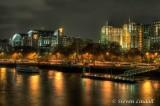 Embankment from Waterloo Bridge