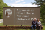 07 Virginia-NPS: Appomattox Court House NHP; Steve & Susan Denson; Fredericksburg  Cemetery and Battlefields NMP;  Shenandoah NP