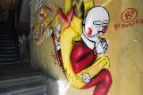 Graffiti at Carmel Market