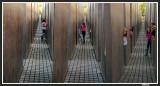 Denkmal in Berlin where Jewish Spansh Children were playing hide and seek.