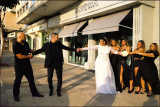 the Israeli Wedding Party in Tel Aviv