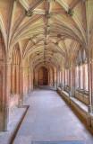 Lacock Abbey cloisters