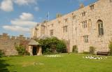 Games in Chirk Castle gardens.