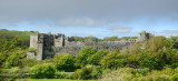 Manorbier Castle from the Church.