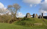 Castle at Newcastle Emlyn.