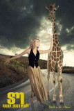 Fashion Photography - Animal Concept with Giraffe