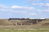 Train 443 Northbound Grainger, AB