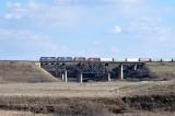 Train 442 Northbound Grainger, AB