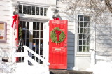 Holiday Red Doors
