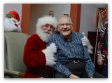 Santa and John