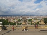 view from Montjuic
