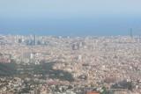 View of City including Sagrada Familia
