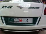 Dubai Police Bentley
