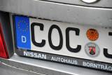 German License Plate, Cochem-Zell
