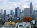 View of Frankfurt from the Radisson Blu