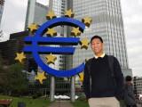 Euro-Skulptur, Willy-Brandt-Platz, Frankfurt
