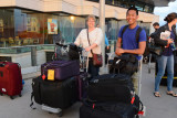 Traveling lightly for our trip to Greenland