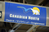 Canadian North, the other airline serving the Canadian Arctic from Ottawa
