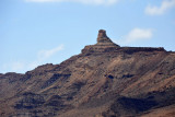 Eroded pinnacle