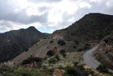 Somaliland Highway 2 in the mountains north of Sheikh