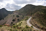 Somaliland Highway 2 climbing up towards Sheikh