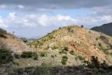 Sunlit hillside, Somaliland
