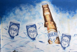Polar Beer, found everywhere in Curaçao together with Heineken, Amstel, Presidente (Dominican Republic) and Corona