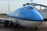 KLM 747-400 from Amsterdam to Curaçao, July 2014