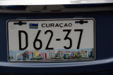 Current Curaçao license plate