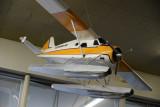 Model of Kenmore Air's staple, the De Havilland Beaver