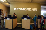 Check-in counters, Kenmore Air