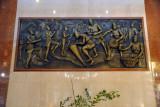 Lobby Art at the Transcorp Hilton Abuja